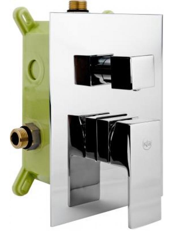 Hexa quadro 35 встраиваемый трёхканальный смеситель