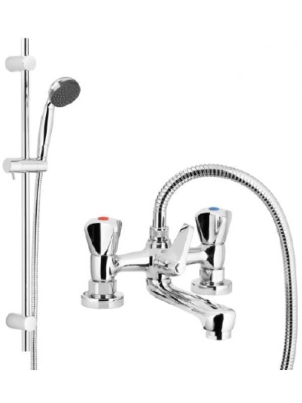 Standard смеситель двухрычажный, для ванны