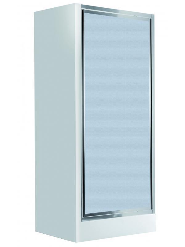 Двери для ниши распашные 80 cm, cтекло матовое Flex