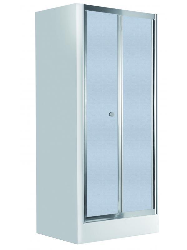 Навесные складные двери 80 cm, cтекло матовое Flex