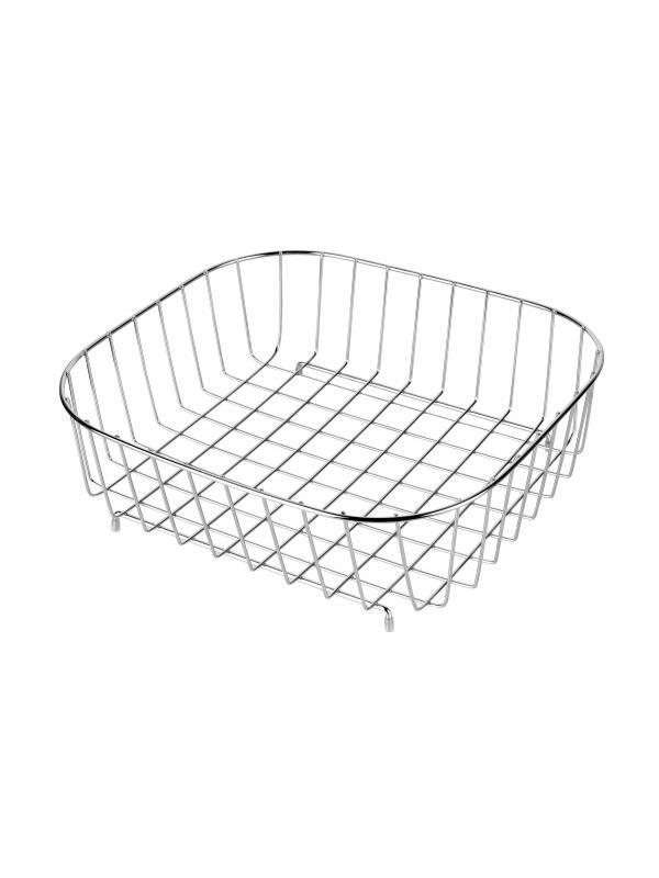 Корзина для кухонных раковин с прямоугольной чашей