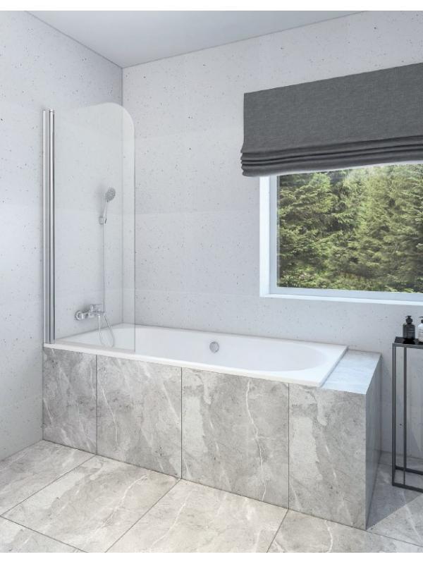 Шторка на ванну RUB-501 150×70
