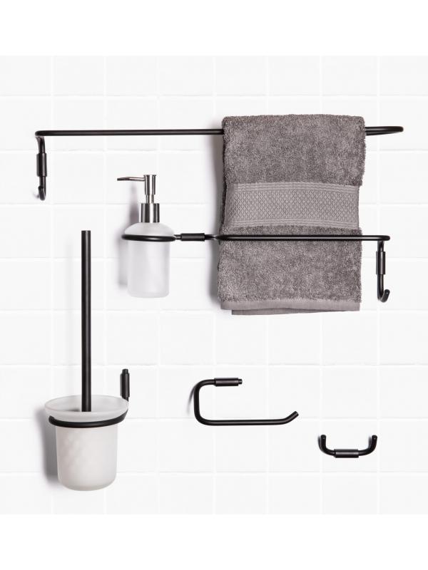 Набор аксессуаров для ванной MINI (BK)