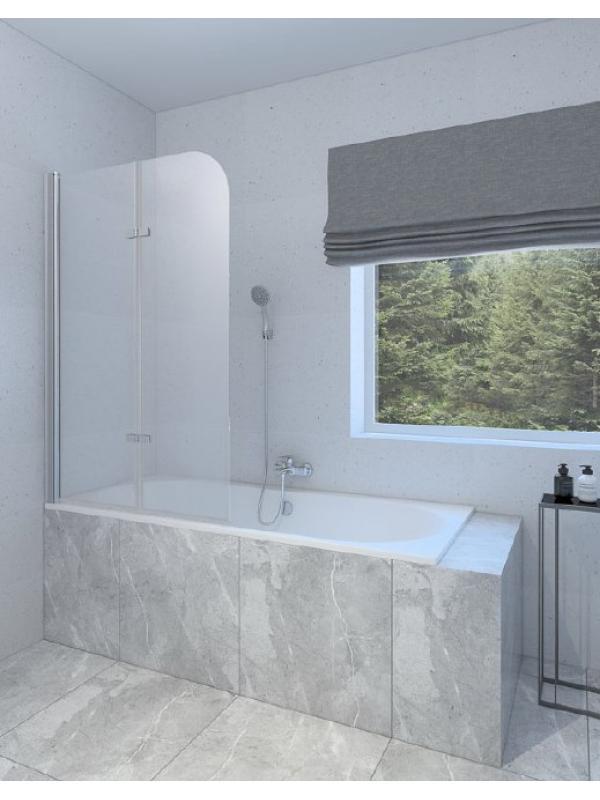 Шторка на ванну RUB-509 150×100